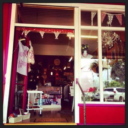 Miss Meg's shop front