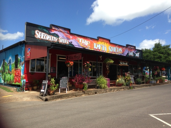 The Red Shed Shops
