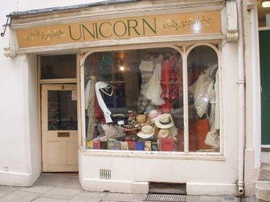 Unicorn Vintage Oxford storefront